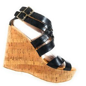 Korks Ease Women Platform  Wedges Size 9 / 40.5 M